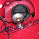 serwis gazu w samochodzie